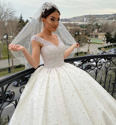 Extravagant wedding dresses princess | Buy Luxury Wedding Dresses_4