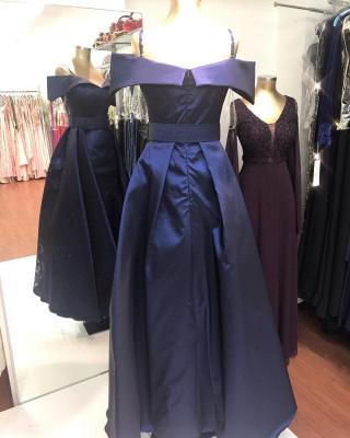 Dunkelblaues Abendkleid | Ballkleider Abendkleider Lang Glitzer_3
