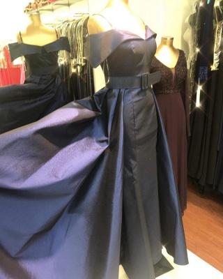 Dunkelblaues Abendkleid | Ballkleider Abendkleider Lang Glitzer_4