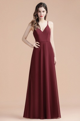Evening dresses long wine red | Evening wear online_9