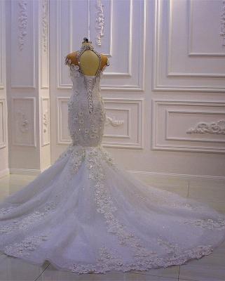 Extravagante Brautkleider Meerjungfrau | Hochzeitskleid Mit Spitze_5