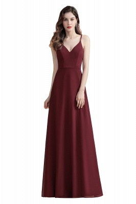 Evening dresses long wine red | Evening wear online_1