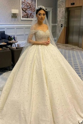 Extravagant wedding dresses princess | Buy Luxury Wedding Dresses_1