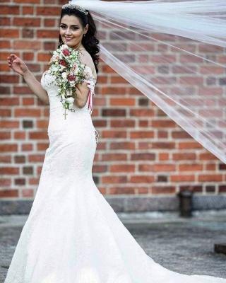 Brautkleider Meerjungfrau Spitze | Hochzeitskleid Günstig Online Kaufen_3