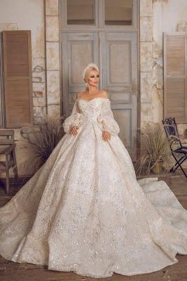 Extravagante Brautkleider | Prinzessinnen Brautkleider Mit Ärmel