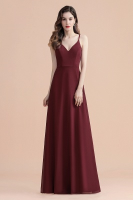 Evening dresses long wine red | Evening wear online_5