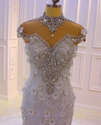 Extravagante Brautkleider Meerjungfrau | Hochzeitskleid Mit Spitze_3