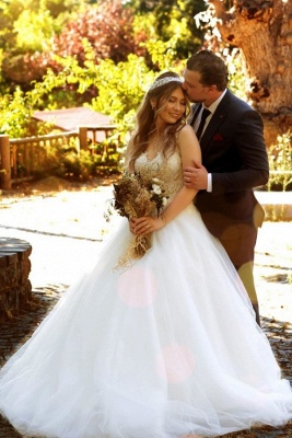 Gorgeous wedding dresses princess | Wedding dress with lace_1