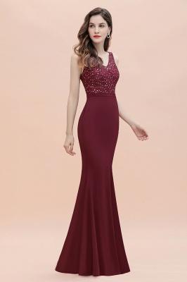 Elegante Abendkleider Lang V Ausschnitt | Abendmoden Online_8