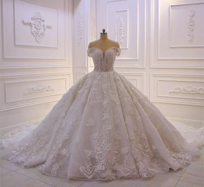 Hochzeitskleider Prinzessin Spitze | Extravagante Brautkleider online_3