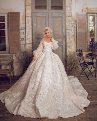 Extravagante Brautkleider | Prinzessinnen Brautkleider Mit Ärmel_4