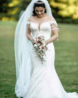 Brautkleider Meerjungfrau Spitze | Hochzeitskleid Günstig Online Kaufen_2