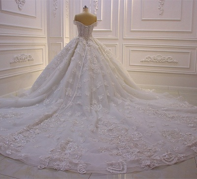 Hochzeitskleider Prinzessin Spitze | Extravagante Brautkleider online_2