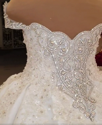 Extravagant wedding dresses princesses | Wedding dresses with lace_5