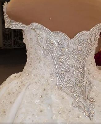Extravagante Brautkleider Prinzessinen | Hochzeitskleider mit Spitze_5