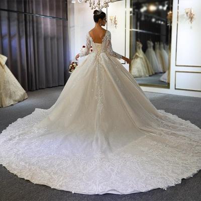 Hochzeitskleid Langarm Umstandsmode | Brautkleider Online Kaufen_5