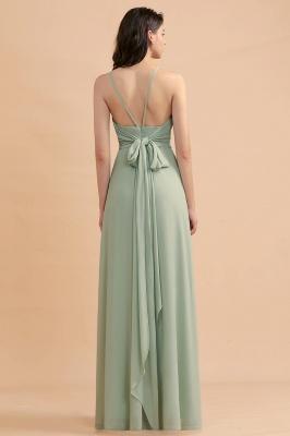 Brautjungfernkleider Lang Mint Grün   Kleider Für Brautjungfern_3