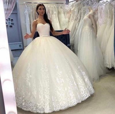Prinzessinnen Hochzeitskleider Online | Brautkleider mit Spitze_2