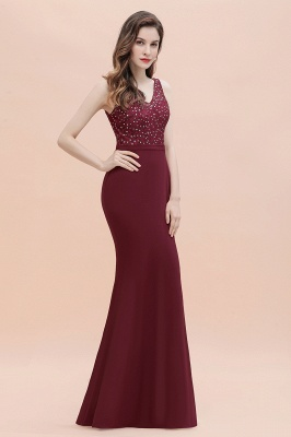 Elegante Abendkleider Lang V Ausschnitt | Abendmoden Online_9