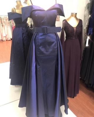 Dunkelblaues Abendkleid | Ballkleider Abendkleider Lang Glitzer_2