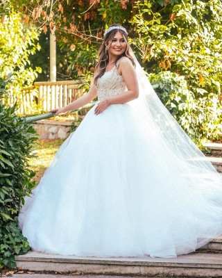 Gorgeous wedding dresses princess | Wedding dress with lace_3