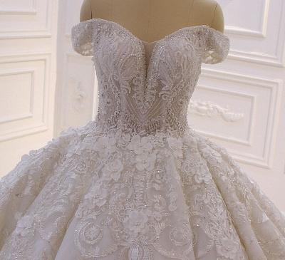 Hochzeitskleider Prinzessin Spitze | Extravagante Brautkleider online_4