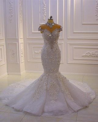 Extravagante Brautkleider Meerjungfrau | Hochzeitskleid Mit Spitze_4