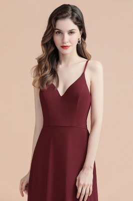 Evening dresses long wine red | Evening wear online_14