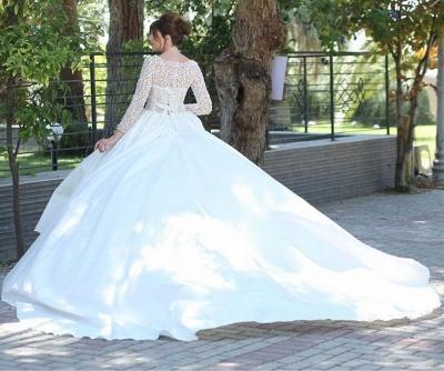 Elegante Brautkleider Mit Ärmel | Brautmoden Prinzessinen Spitze_2