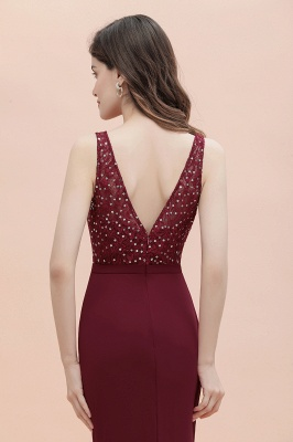 Elegante Abendkleider Lang V Ausschnitt | Abendmoden Online_10