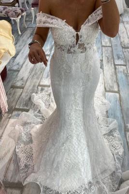 Luxus Brautkleid Meerjungfrau | Hochzeitskleider Spitze Günstig Online