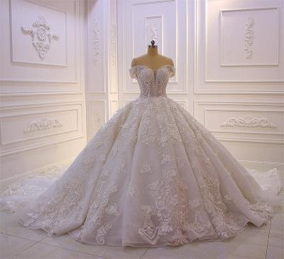 Hochzeitskleider Prinzessin Spitze | Extravagante Brautkleider online_5