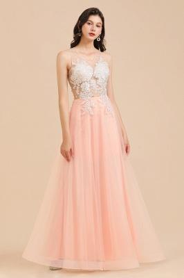 Designer Abendkleider | Abendkleid Lang Rosa_7