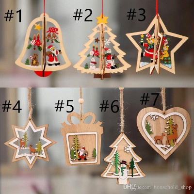 10 pieces of Saxon Christmas tree decorations | unusual Christmas tree decorations