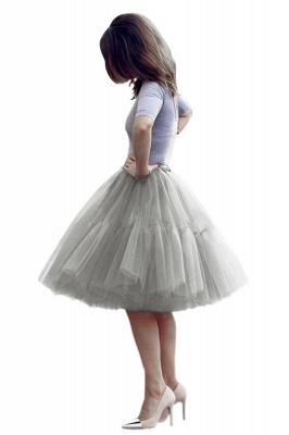 Crinoline Short A line | Petticoat wedding dress_16