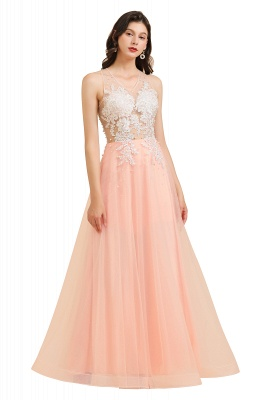 Designer evening dresses | Evening dress long pink_1