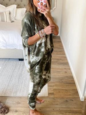 Pyjamahose Damen Print | Schlafanzug Damen Leopardenmuster_4