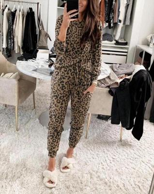 Schlafanzug Damen Leopardenmuster | Schiesser Pyjama Online Shop_2
