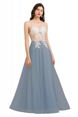 Designer Abendkleider | Abendkleid Lang Rosa_5