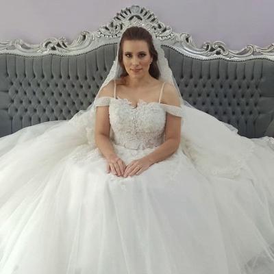 2021 Brautkleider Prinzessin | Hochzeitskleider mit Spitze_2