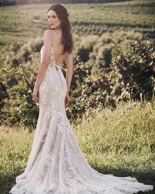 Designer wedding dress mermaid | Wedding dresses with lace online_3