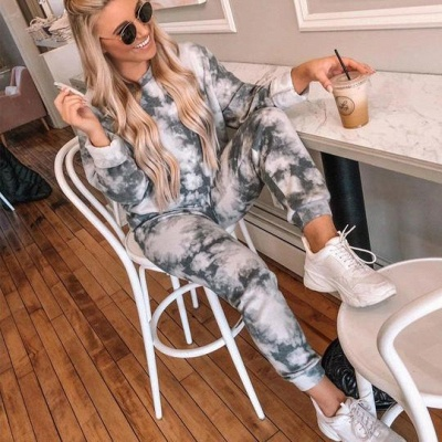 Warm winter pajamas women | Cheap pajama print_1