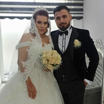 2021 Brautkleider Prinzessin | Hochzeitskleider mit Spitze_4