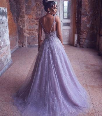 Extravagante Abendkleider Lang | Abiballkleider Glitzer Online_3