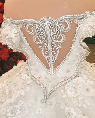 Extravagant wedding dresses | Princesses wedding dresses with lace_5