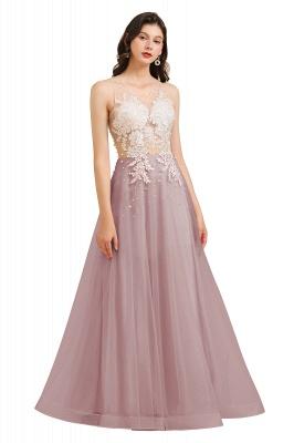 Designer Abendkleider | Abendkleid Lang Rosa_2