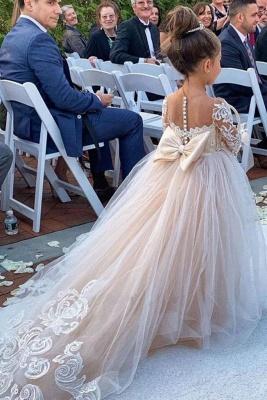 Wunderschöne Blumenmädchenkleider Günstig | Kinder Hochzeitskleider Online
