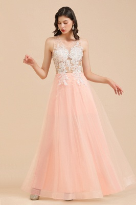 Designer evening dresses | Evening dress long pink_6