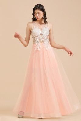 Designer Abendkleider | Abendkleid Lang Rosa_6