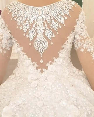 Beautiful wedding dresses princess | Wedding dress with lace_4